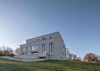 """Neubau von fünf Wohnhäusern  an der """"Grüne Harfe"""" in Essen"""